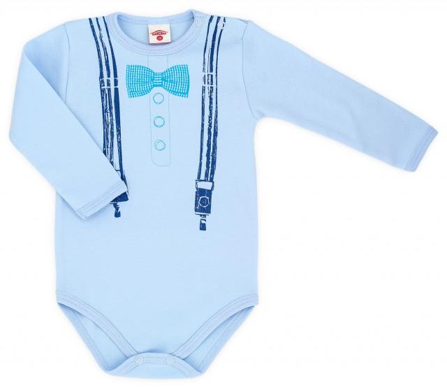 MK0303-4-6.18 luni,Body bleu pentru baieti - Celebrity - Haine Bebe