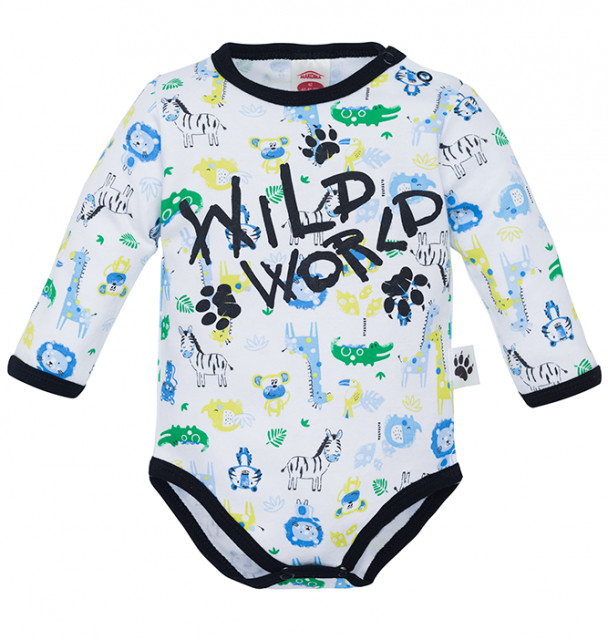 MK03216DR1.3 luni,Body cu animalute - Colectia Wild World