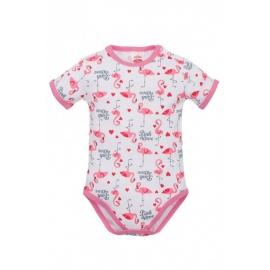 MK03211KRD.9 luni,Body pentru bebelusi - Colectia Flamingo