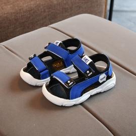 LING04-2-bo5.Marimea 25,Sandale albastre pentru baietei