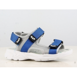 LLB143223.Marimea 23,Sandale pentru baieti - Grey and Blue