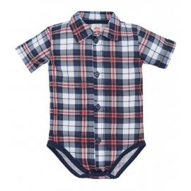 MK0304KRK2.9 luni,Body camasuta pentru bebelusi - Carouri