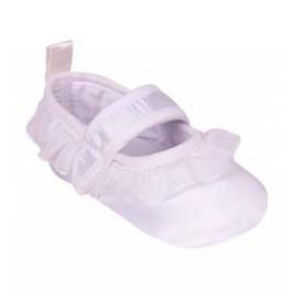 OB-060.6-12 luni (Marimea 19 incaltaminte),Pantofiori albi cu volanase