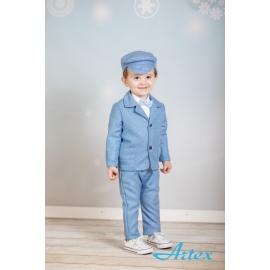Art021.3-6 luni (Marimea 18 incaltaminte),Costum elegant  - Blue&White