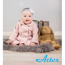 ArtCoat-29.9 luni,Pardesiu pentru fetite - Pink