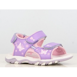 B138320-1.Marimea 30,Sandale ajustabile - Purple