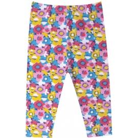LE-08.2-3 ani,Colanti trei sferturi pentru fetite - Floricele colorate