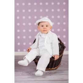 Art-suit 01C.0-1 luni,Costum elegant Satin White