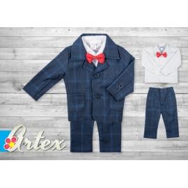 Art-suit 29.9-12 luni (Marimea 20 incaltaminte),Costum elegant Fancy Navy Style