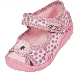 VIG85.Marimea 20,Pantofiori decupati fetite - Floricele
