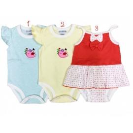 AL052.6-9 luni.1,Body pentru fetite - Pasarica - Hainute Bebelusi