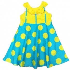 MD115.14 ani,Rochie fete - Elegant yellow