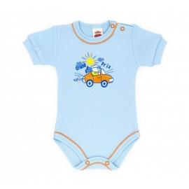 MK0312-5-7.3 luni,Body bebe cu maneca scurta - Grand prix