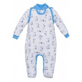 MK01210.3 luni,Salopeta cu bluzita pentru bebelusi - Colectia Puppy