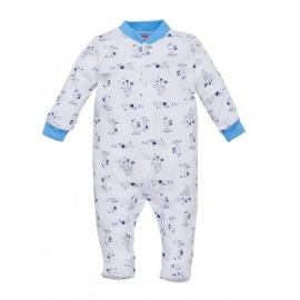 MK02210.12 luni,Salopeta cu botosei pentru bebelusi - Colectia Puppy