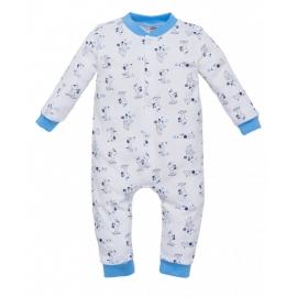 MK02210BS.9 luni,Salopeta fara botosei pentru bebelusi - Colectia Puppy