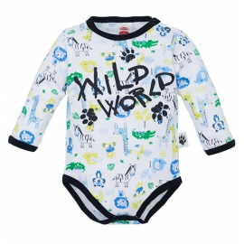 MK03216DR1.6 luni,Body cu animalute - Colectia Wild World