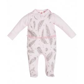 MK01200.6 luni,Salopeta pentru bebelusi cu bluzita - Colectia Angel