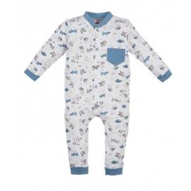 MK02186BS.4 ani,Salopeta - pijama - Colectia Dogs
