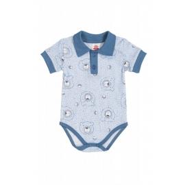 MK03184KRK.18 luni,Body cu guler - Colectia Teddy Smile