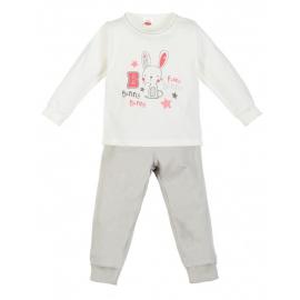 MK07180.18 luni,Pijama pentru fetite - Colectia Bunny