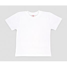 MK2009.8 ani,Tricou alb din bumbac pentru copii