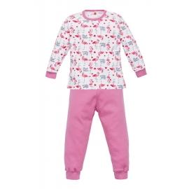 MK07211.18 luni,Pijama pentru fetite - Colectia Flamingo