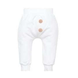 MK10218E.2 ani,Pantaloni albi pentru bebelusi - Colectia Roses