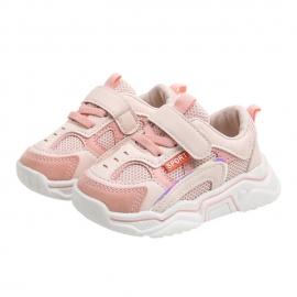 MBXZ-6201-3-s1.Marimea 23,Adidasi alb cu roz pentru fetite