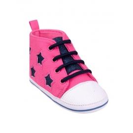 OB-079-1.0-6 luni,Tenisi roz pentru bebelusi - Shining Stars