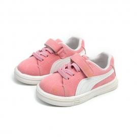 MD508-2-p12.Marimea 24,Adidasi roz cu alb pentru fetite