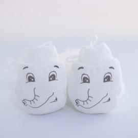 MBST099-8.0-6 luni,Manusi de protectie pentru bebelusi -Elefantel