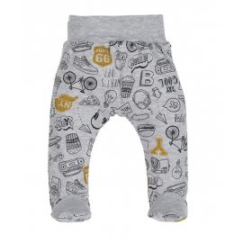 MK08197.3 luni,Pantaloni cu botosel - Colectia Route 66