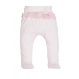 MK08200T.9 luni,Pantaloni din bumbac pentru bebelusi cu botosei - Colectia Angel