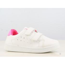 ALB311820.Marimea 26,Pantofi sport albi pentru copii