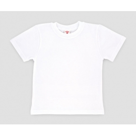MK2009.7 ani,Tricou alb din bumbac pentru copii