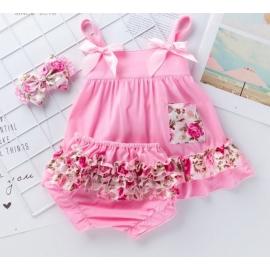 MDX010-c1.12-18 luni (Marimea 21 incaltaminte),Costumas pentru fetite - Flower