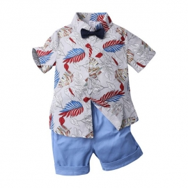MBXTZ8363-2.18-24 luni,Costum cu pantalonasi si camasuta pentru bebelusi