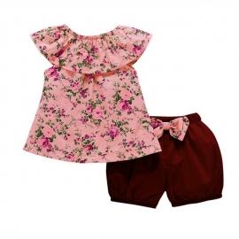 MDHA09008-3.12-18 luni (Marimea 21 incaltaminte),Costumas cu pantaloni bufanti pentru fetite
