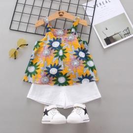 MDW-132-3.18-24 luni,Costumas pentru fetite - Flori colorate