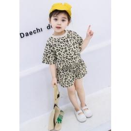 MDW-087-2.18-24 luni,Costumas pentru fetite - Leopardul crem