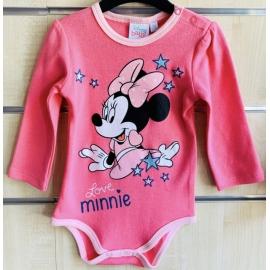 LIJ614B.6-9 luni (Marimea 19 incaltaminte),Body Love Minnie-Colectia Disney