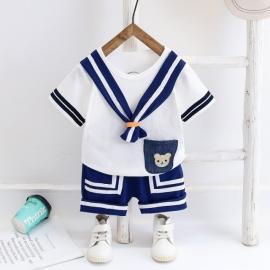 MDW-125-3.6-9 luni (Marimea 19 incaltaminte),Costum pentru baietei - Sailor