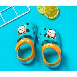 MDHJ-199-4-c.Marimea 24,Papuci tip sandaluta din cauciuc pentru copii - Cow