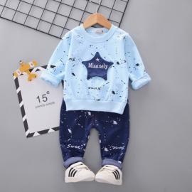 MBHQ05-1.18-24 luni,Costumas bleu pentru baietei - Misanely