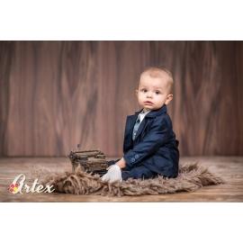 Art014.0-1 luni,Costum bleumarine pentru bebelusi - Set complet