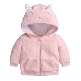 ADFSB55-1.0-3 luni,Hanorac roz pentru fetite - Pisicuta